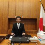 内閣総理大臣補佐官就任。(平成24年12月 首相官邸総理補佐官室)