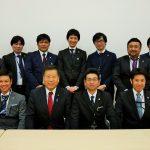大分市工業連合会青年部会と面会(平成29年1月13日 参・議員会館)