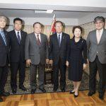 拉致問題対策本部 モンゴル大使館訪問1